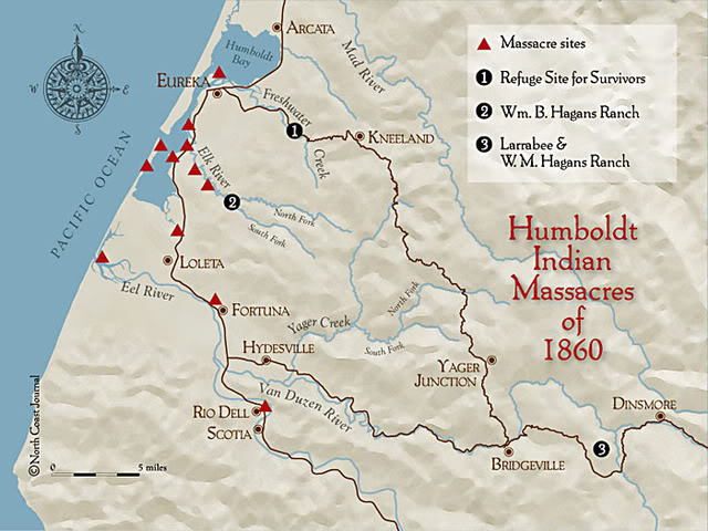 1860 Wiyot Indian Massacre
