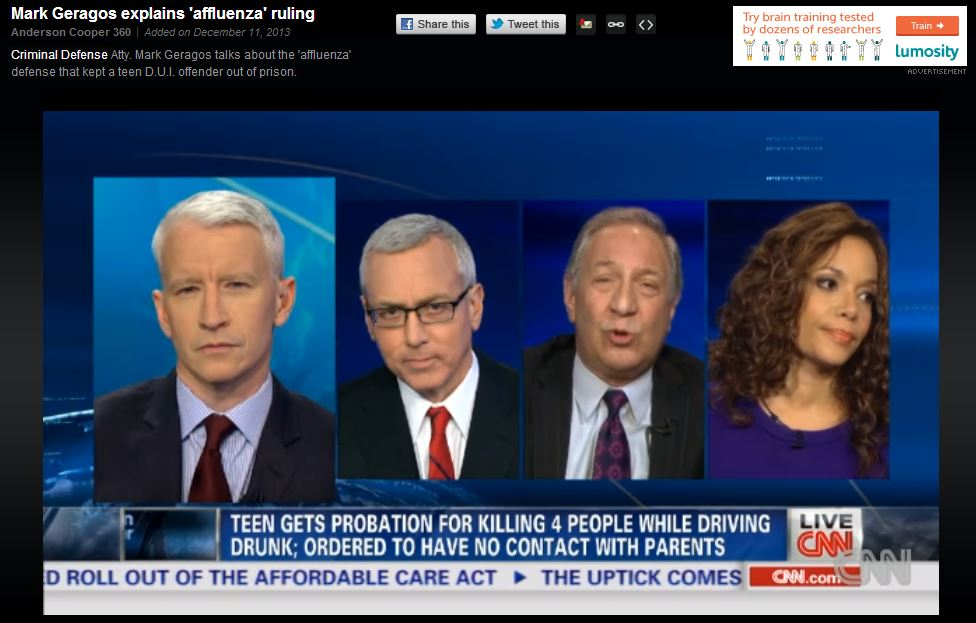 """Criminal Defense Attorney Mark Geragos Says """"There is Nothing Just About the Criminal Justice System"""""""