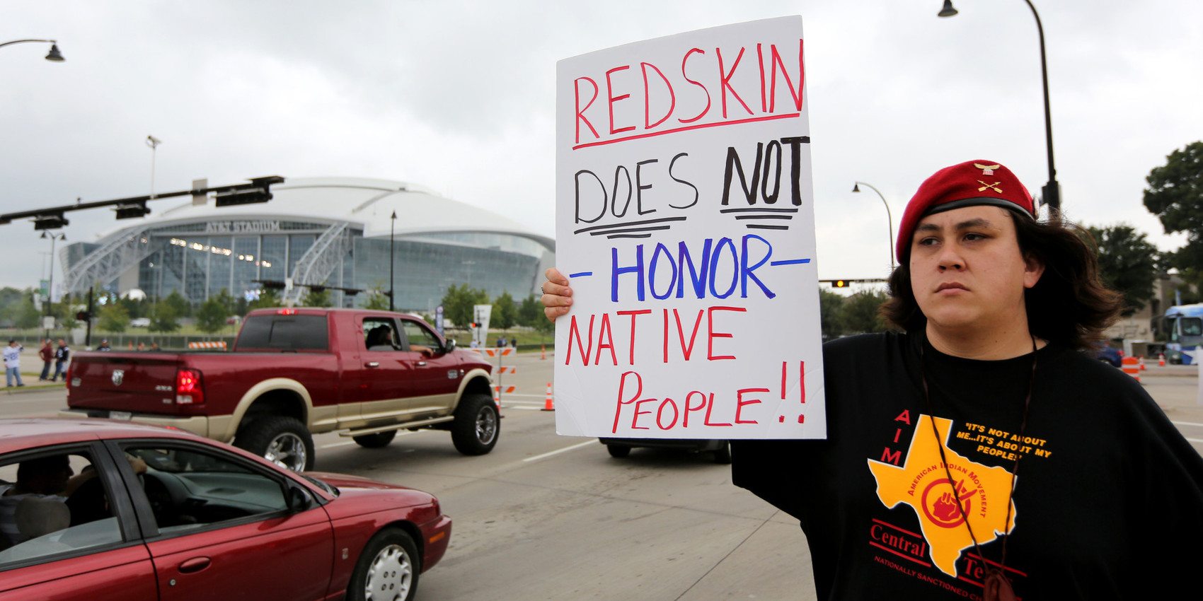the controversial debate on the use of the washington redskins name and its affiliation with native