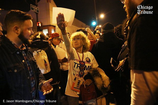Hate and Violence at Trump Rallies