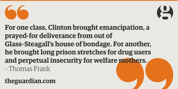 Bill Clinton's crime bill destroyed lives, and there's no point denying it