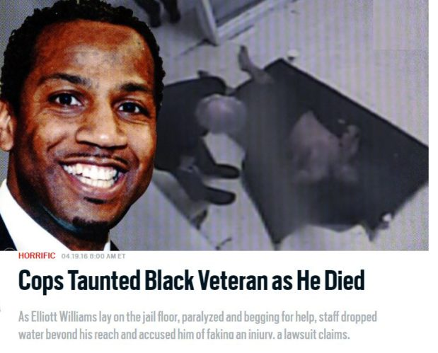 Cops Taunted Black Veteran #ElliottWilliams as He Died.