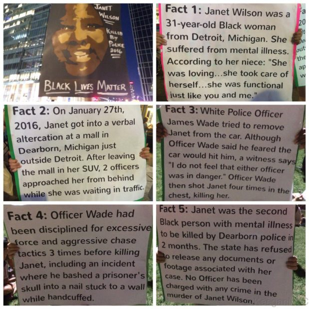 Five facts about #JanetWilson, an unarmed black woman shot & killed by police this year